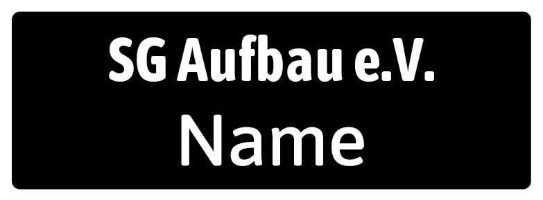 Logo auf schwarz